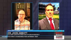 """Dr. John Abbott on WBRC: """"Murder Hornets"""""""