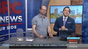 "Dr. John Abbott on WBRC: ""Summer Bugs in Alabama"" (August 2, 2019)"