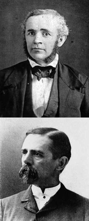Michael Tuomey (top) and Eugene Allen Smith (bottom).